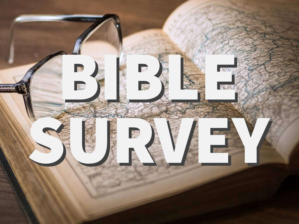 Bible Survey 1 Samuel: Not by Might Shall a Man Prevail